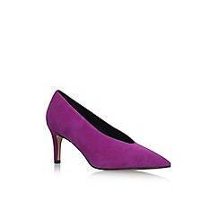Carvela - Pink 'Autobann' high heel court shoes