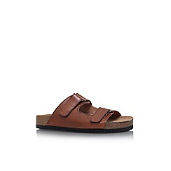 KG Kurt Geiger - Brown leyland flat sandals