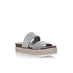 Carvela - Grey 'Karry' flat sandals