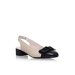 Carvela Comfort - Black alayna low heel sandals