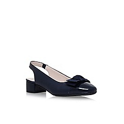 Carvela Comfort - Blue alayna low heel sandals