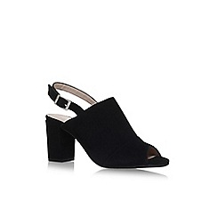Carvela Comfort - Black 'Accent' high heel sandals