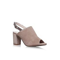 Carvela Comfort - Brown 'Accent' high heel sandals