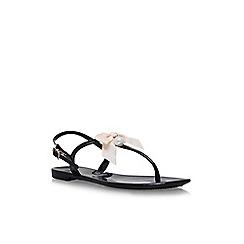 Miss KG - Black 'Dante' flat sandals