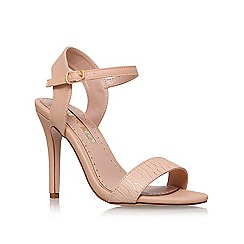 Miss KG - Natural 'Imogen 2' high heel sandals