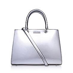 Carvela - Silver 'Darla2' tote bag with shoulder straps