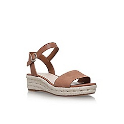 Nine West - Brown allium flat sandals