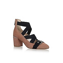 Nine West - Brown 'Andrew' high heel sandals