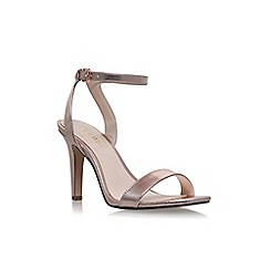 Nine West - Gold 'Aniston' high heel sandals