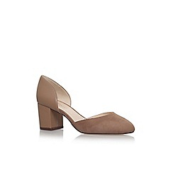 Nine West - Brown chazz high heel court shoes