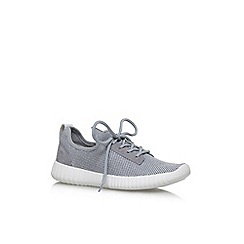 Carvela - Grey 'Limped' flat lace up sneakers