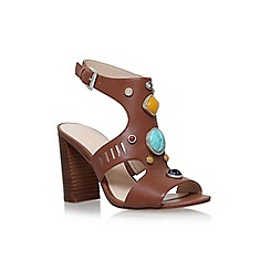 Nine West - Brown chervil high heel sandals