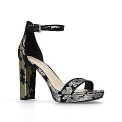 Nine West - Black 'Dempsey' high heel sandals