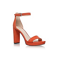 Nine West - Orange dempsey high heel sandals