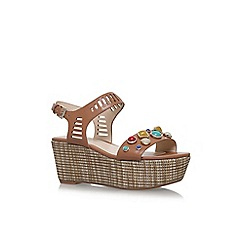 Nine West - Brown feeah high heel sandals