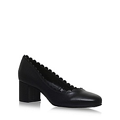 Nine West - Black 'FINNLEY' mid heel court shoes