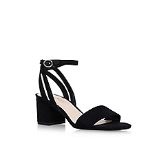 Nine West - Black 'Give it up' high heel sandals