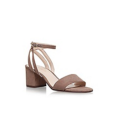 Nine West - Brown 'Give it up' high heel sandals