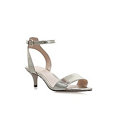 Nine West - Gold 'Lesia' high heel sandals