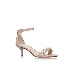 Nine West - Pink lipstick high heel sandals
