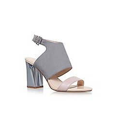 Nine West - Cream moshpit high heel sandals