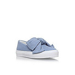 Nine West - Blue onasha flat slip on sneakers