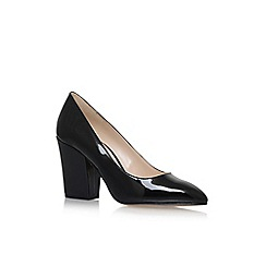 Nine West - Black 'Scheila' high heel court shoes
