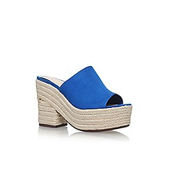 Nine West - Blue 'Skyrocket' high heel sandals