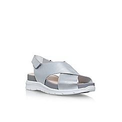 Nine West - Silver vizara flat sandals
