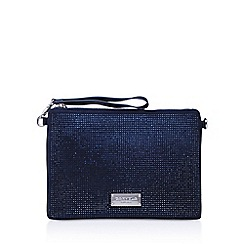 Carvela - Blue 'DASHING 2' clutch bag