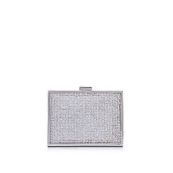 Carvela - Silver 'Destiny 2' clutch bag