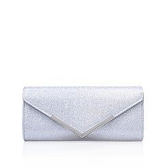 Carvela - Silver 'Daphne 2' clutch bag