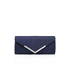 Carvela - Blue 'Daphne 2' clutch bag