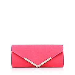 Carvela - Pink 'Daphne 2' clutch bag