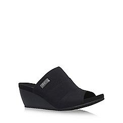 Anne Klein - Black 'Chanay' high heel sandals