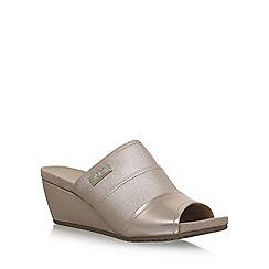 Anne Klein - Brown 'Chanay' high heel sandals