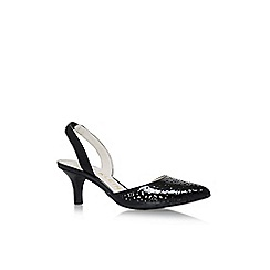 Anne Klein - Black fabrizia low heel sandals