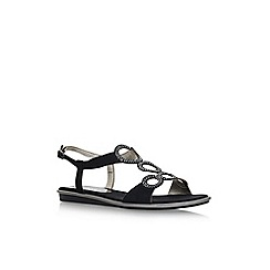 Anne Klein - Black 'Gaia' flat sandals