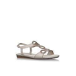 Anne Klein - Brown 'Gaia' flat sandals