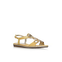 Anne Klein - Yellow 'Gaia' flat sandals