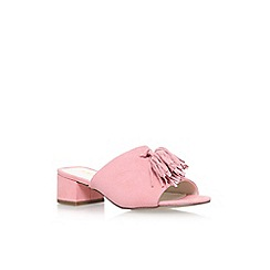 Anne Klein - Pink 'Salome' high heel sandals