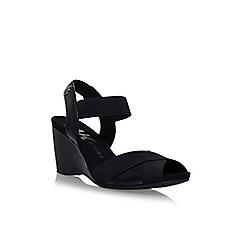 Anne Klein - Black 'Wilamina' high heel sandals