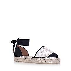 Miss KG - Black 'LORNA' flat sandals