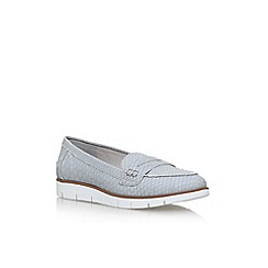 Miss KG - Grey nicole flat slip on loafers