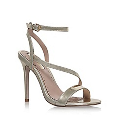 Miss KG - Gold 'Scarlette' high heel sandals