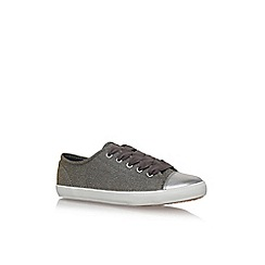 Carvela - Metal mexx 2 flat lace up sneakers