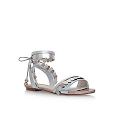 Miss KG - Grey 'Raphy' flat sandals