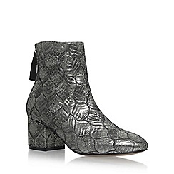 Carvela - Silver 'Slim' high heel ankle boots
