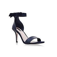 Miss KG - Blue 'Gabby' high heel sandals