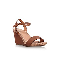 Miss KG - Brown pia high heel sandals